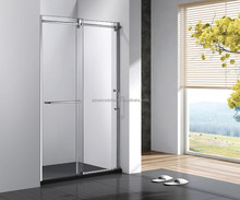 modern interior frosted aluminium sliding toilet glass bathroom door