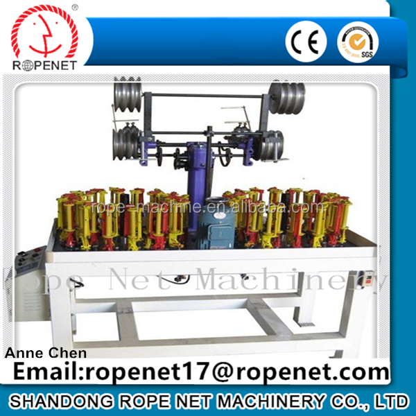 21 Spindle high speed flat rope braiding Machine