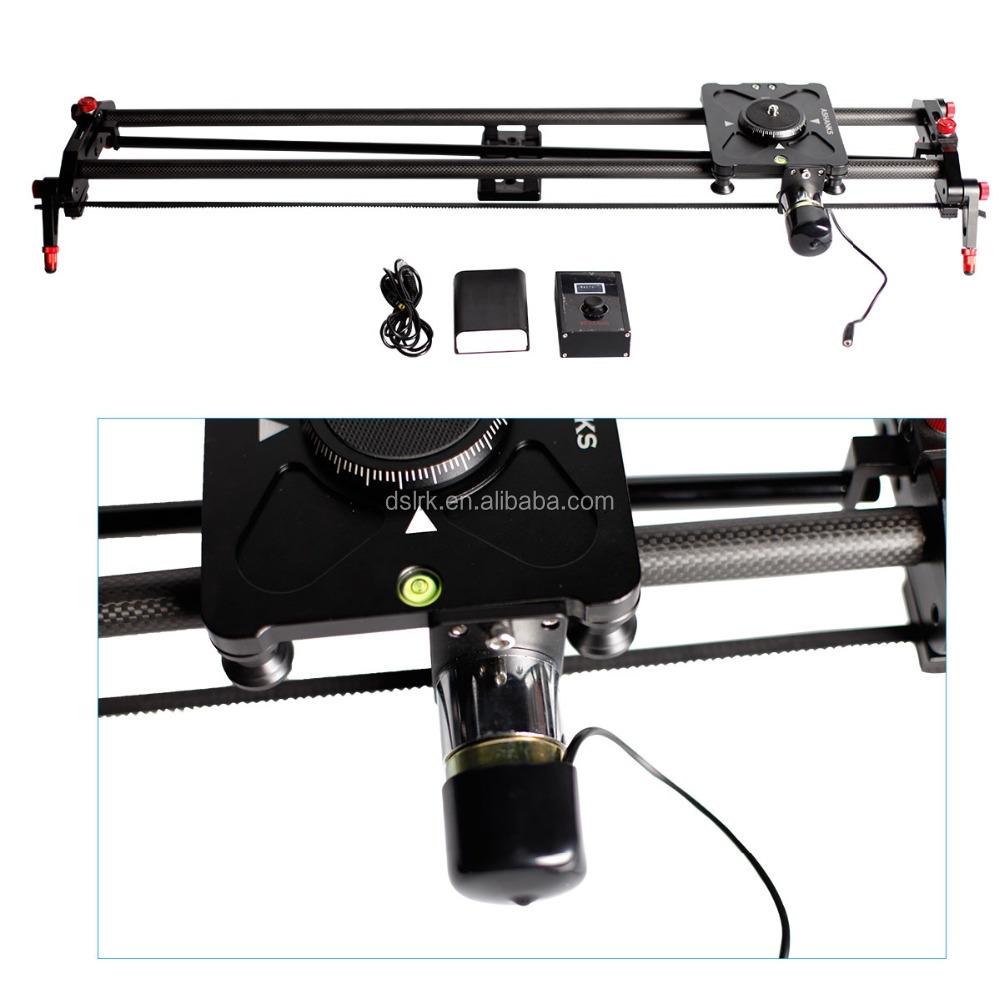 Portable professional Electric Control 100cm timelapse camera motorized slider DSLR step motor Track dolly rail