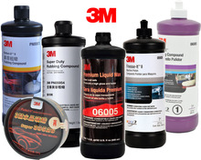 3M Car Wax Rubbing Compound