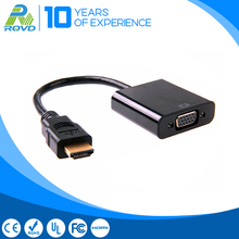 Fast transmission speed vga hdmi cable