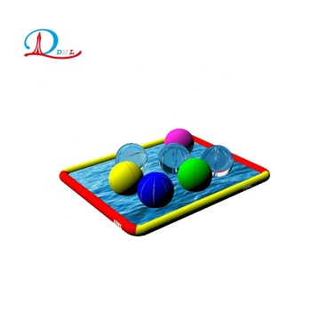 DNL customized rectangle largest inflatable pool for outdoor amusement parks