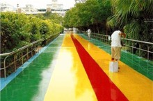 Colorful Rainbow Dip Rubber Paint for floor