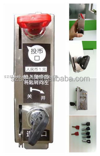 Stainless Steel Coin Lock, Coin Lock for Coin Locker