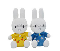 Plush soft rabbit toys wholesale with disney license