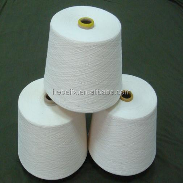 high tenacity 100 pct spun polyester yarn for sewing filament thread ball raw white and colored