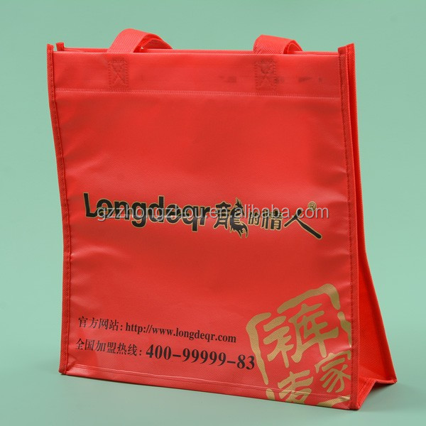 Reflective nonwoven hand bag, nonwoven green bag, nonwoven gifts bag