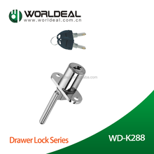 Top Quality Blade Pedestal zinc alloy master key desk drawer locks