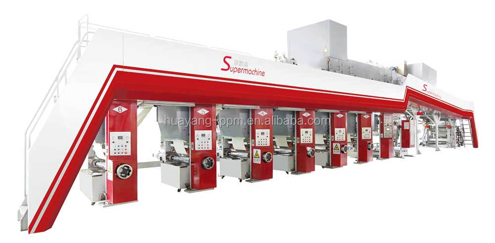 SUPERMACHINE GRAVURE PRINTING WALLPAPER PRODUCTION LINE