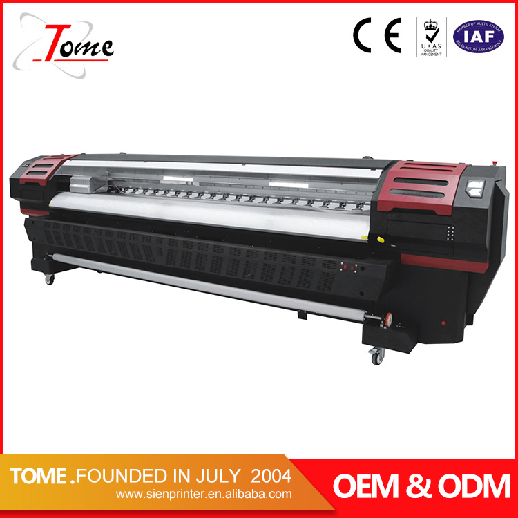 crystaljet 4000 series printing machine , high speed large format printer in Guangzhou