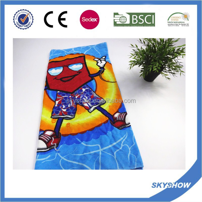 Wholesale custom printing rally towel cotton