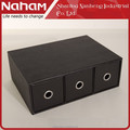 NAHAM modern desk cosmetics storage drawers jewelry organizer