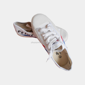 Chinese traditional white rubber Kungfu Feiyue Shoes