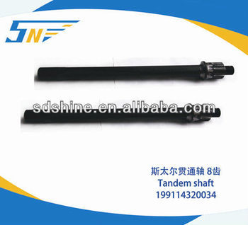 HOWO truck driving shaft ,HOWO axles parts 99114320034