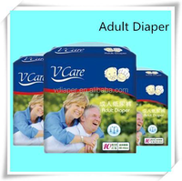 Disposable Adult Diapers with PE Film in China