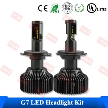 Factory quality hb1 h4 car led headlight kit h7 h8 hb3 hb4 led headlamp kit and super bright h11 9005 9006 led head lamp