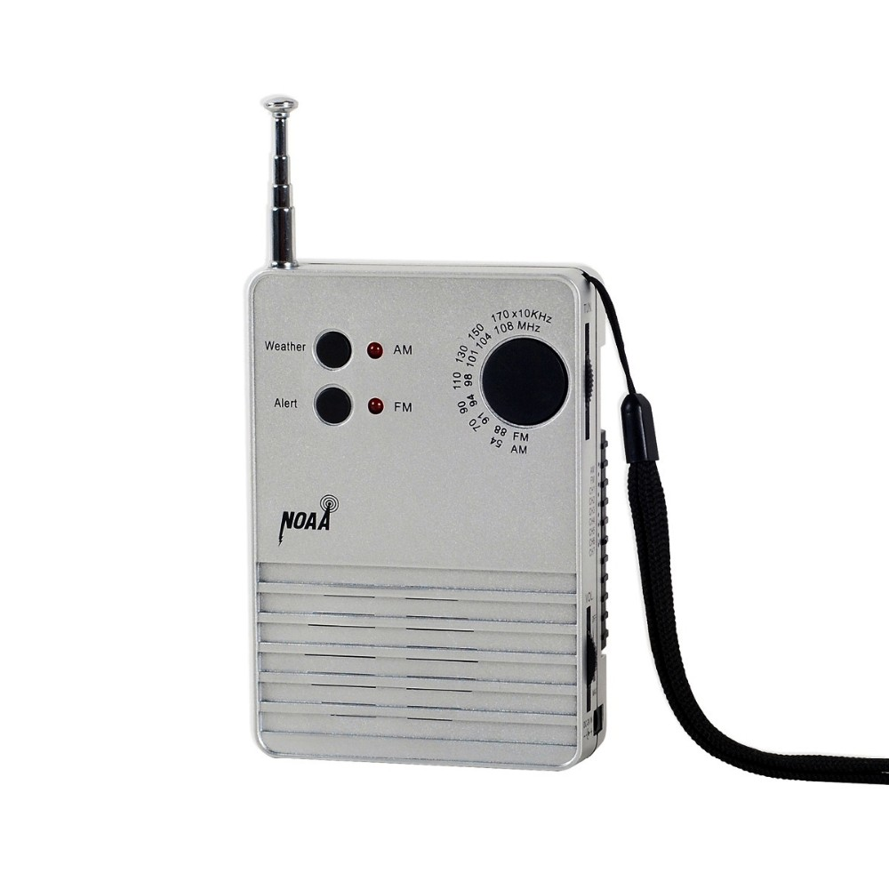 NOAA weather and alert radio