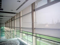 Indoor sunscreen Motorized roller blinds /Auto roller blinds