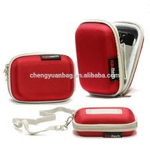 Stylish Design Digital Camera Carrying Case with Practical Functionality. Interior Pocket for Memory Card