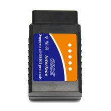 TOP one selling elm327 v1.5 wifi adapter OBD2 scanner automobile