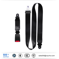 static two point van/bus driver seat belts