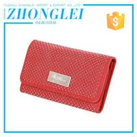 Low Cost Fold Embroidered Leather Wallets And Purses