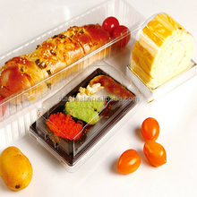 Custom accept high quality disposable food grade plastic clamshell blister packaging