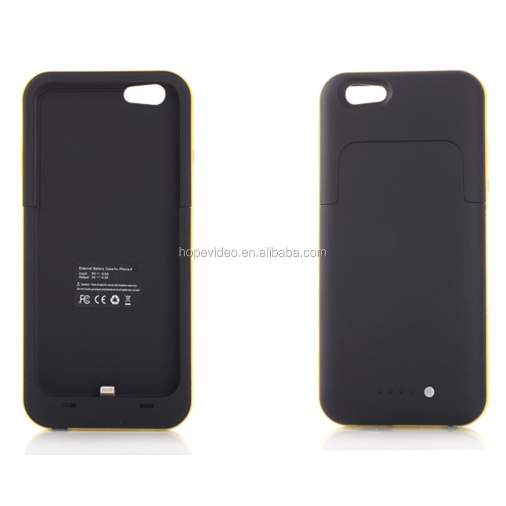 backup battery charging case mobile phone charging power bank for iphone 6