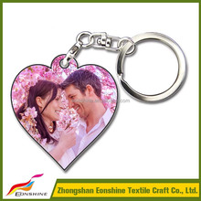 Cheap Popular Sublimation Printed Wood Keychain