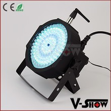Glow lamp 130x10mm remote led par RGBW visible dj stage flat par light VShow flattened led ir remote illumination