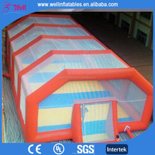 Exclusive New design inflatable soccer field soap football field