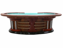 Big sales High Quality Dongguan Factory Extravagant Texas Poker table