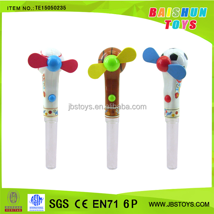 Promotion candy toys fan toys te15050235