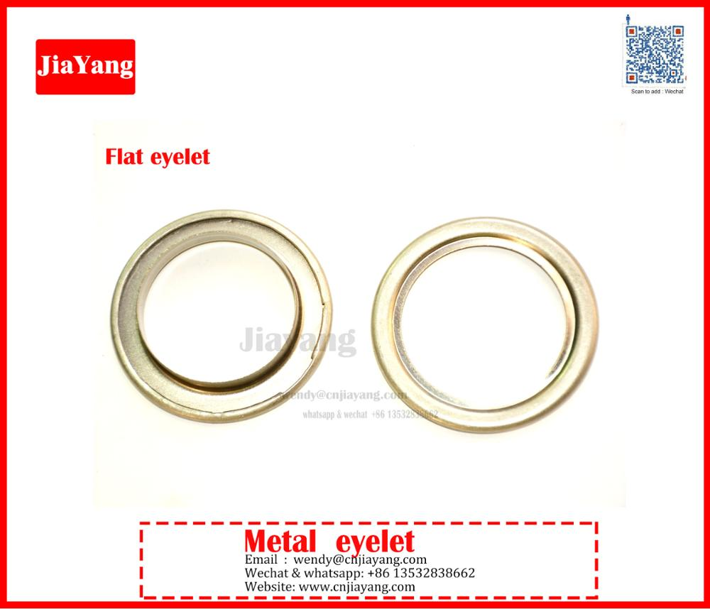 Rust Proof 304# stainless steel 40mm eyelets grommet for curtain