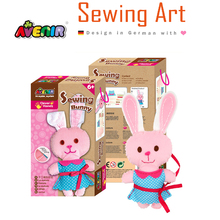 Puzzle Game Gift DIY Toy Rabbit Sewing Kits Doll for Kids