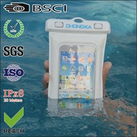 2016 Wholesale Universal Water Proof PVC Mobile Phone Cases /Cell phone waterproof bag