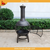 elegant and sturdy package terracotta chimineas