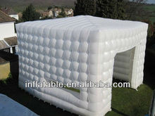 6m PVC commercial Inflatable Party Cube Tent/Cube Air Inflatable tent