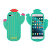 Oem Odm Custom Made Shockproof Smartphone Protection Cover Cute Cactus Silicone Smart Cell Phone Case For Iphone 7