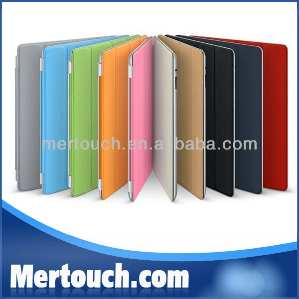 For ipad mini Ultra Thin Stand PU Leather Smart Cover for ipad 2 3 4