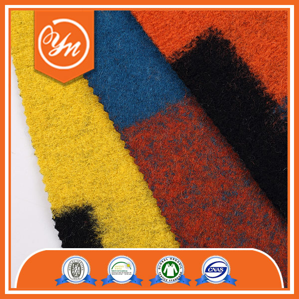 Hot sale GOTS Special cutting Casual brushed knit fabric