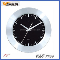 16 inch Large school quartz metal clocks