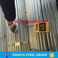 FACO Steel Group ! rmc galvanized cable pipe round galvanized pipe professional suplier with high quality