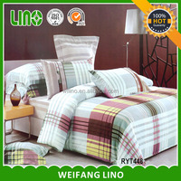 100% cotton printed cheap wholesale western 4pcs bedding sets/european bed linen/news print bedding set
