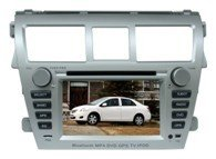 "7"" Toyota Vios New car dvd player with GPS navigation system"