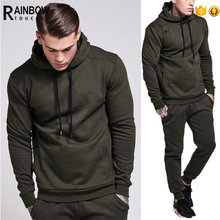 Wholesale Men's Hoody Plain Sweat Suits