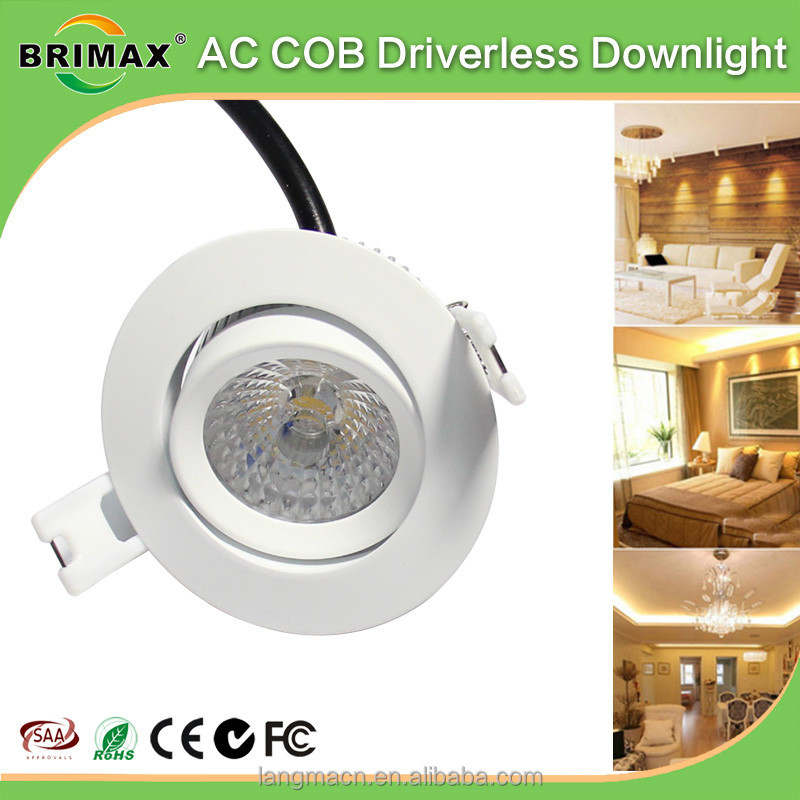 Ultra Slim led <strong>downlight</strong> 3inch <strong>downlight</strong> COB led down light fixture
