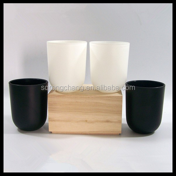 Wholesale Glass Candle Jar For Wax Candle Making White Glass ...