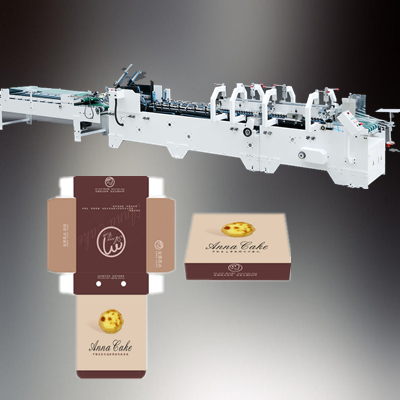 HH-YA Auto High-Speed Pre-Fold Popcorn Chicken Box Machine automatic box carton making machine prices