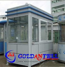 CE certificate small prefab traffic toll booth security mobile steel sentry guard house